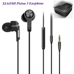 Wholesale Wholesale Awards - Reddot award xiaomi m5 xiaomi piston 3 earphone noise cancelling metal piston xiaomi stereo headphone headset for iphone,sumsung EAR198