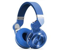 2019 auriculares de turbinas Bluedio T2 + (Turbine 2 Plus) auriculares bluetooth plegables Bluetooth 4.1 compatible con auriculares tarjeta SD y radio FM para llamadas / música con packingbox auriculares de turbinas baratos