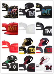 Wholesale Team Hat Brands - 2018 Wholesale TMT Print Snapback Hats Famous Brand Basketball Team Running Baseball Caps Snapbacks Hats with US Flag Style for Adult A030