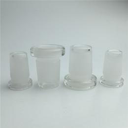 2019 14mm quarzglasschale 10mm auf 14mm Glas Adapter Konverter für Glas Bong Quarz Banger Glas Schüssel 10mm weiblich auf 14mm männlich 14mm weiblich auf 18mm männlich rabatt 14mm quarzglasschale