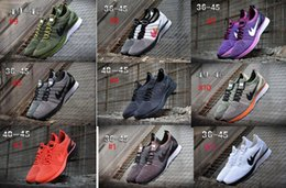 Wholesale Racer Back Tops - 2018 Air Zoom Mariah Racer 2 Men Casual shoes top quality racer 87 90 presto huarache back white green red
