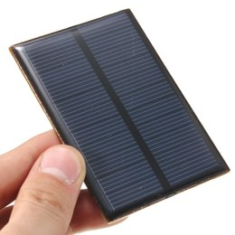 Wholesale Solar Cell Epoxy - High quality 5.5V 0.66W 120mAh DIY Monocrystalline silicon Epoxy solar panel Module Mini Solar Cells Battery Phone charger