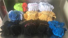 Wholesale Fedex Art - U & A Pink Boys & Girls' Adult Short Socks Men & Women Football Cheerleaders Basketball Sports Ankle Socks Free Size Free DHL Fedex Shipping