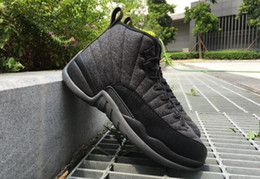 Wholesale Chinese Cheap Shoes - cheap Mens Air Retro 12 Red Flu Game Chinese New Year Taxi Gamma Blue Basketball Shoes Sneakers for Men Outdoor Sports Shoes SizeUS8-US13