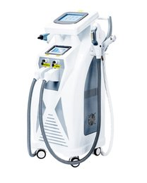 Wholesale Hair Removal Technology - Good results !!!Optimal Pulsed Technology OPT Hair Removal SHR E-light IPL RF nd Yag Laser Multifunction Machine