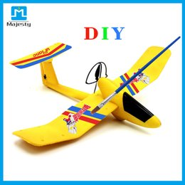 Wholesale Painting Safe - DIY airplane RC Line Safe & Stablity Aircraft Uplane Bluetooth 4.0 Smart Phone Gravity Sensing RC Airplane Model Mini Fixed-wing Plane