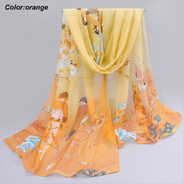 Wholesale Wholesale Scarves For Spring - New arrival wholesale orange scarf navy blue and orange scarf ladies infinity scarves spring scarves for women