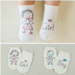 Wholesale Funny Baby Socks - 2016 anti slip cartoon baby socks for boys and girls Korean fashion kids cotton funny socks children's accessories neborn infant sock