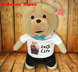 Wholesale Kids Giant Teddy Bears Toys - Giant teddy bear sale Teddy Bear Ted Plush Toys In sweater 40CM Soft Stuffed Animals Ted Bear Plush Dolls for baby kids gifts