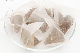Wholesale Stereoscopic Bag - 1000pcs lot Tea bags Stereoscopic triangle tea bag The hotel make tea custom tools 5*5cm free shipping 140 HY1051