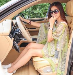 печатный пашминовый шарф Скидка Женская пляжная одежда Sarong Scarf Poncho Bikini Cover Up Пляжный пейсли с принтом шифон солнцезащитный крем платок пашмина для вождения с кнопкой