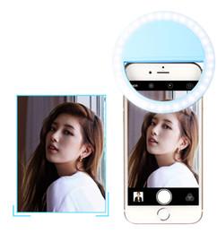 bateria usável recarregável Desconto USB recarregável Selfie anel Luz de preenchimento de luz Suplementar iluminação da câmera Fotografia AAA Bateria Selfie Ring Light todos os telefones inteligentes