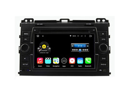 Wholesale Touch Screen Radio For Prado - 7'' Quad Core Android 5.1.1 Car DVD Stereo For TOYOTA PRADO Cruiser 120 2003-2009 With Radio GPS Map Video Multimedia Audio