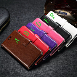 Wholesale Oil Credit Cards - Oil Photo Retro Purse Holder Crazy Horse Wallet Leather Credit Card Stand Flip Case For Moto G5 G4 Plus G4Plus Play G4Play Pouch Skin Cover