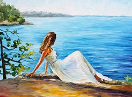 Wholesale Fine Art Framing - Fine Art Print Reproduction High Quality Giclee Print on Canvas Home Decor Landscape Painting DH030