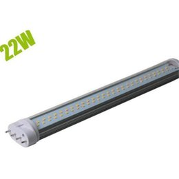 Wholesale Pf Led Light - 1 2 Plastic and 1 2 Aluminum CRI>80Ra PF>0.9 Epistar Corn LED Lights 8W 12w 15W 18W 20W 22W LED Bulbs with 2G11 Base 2 years warranty