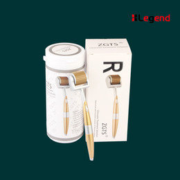 Wholesale Facial Needle Roller - 2016 zgts derma facial roller titanium 192 micro needle meso skin roller factory wholesale low price