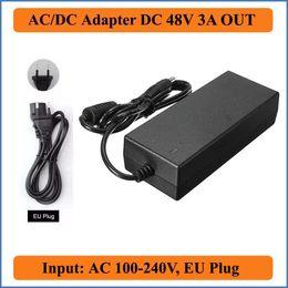 2019 ac dc netzadapter 48v 48V 3A AC DC Adapter EU Stecker AC 100V-240V Konverter Adapter zu DC 48V 3A 150W Netzteil Ladegeräte für LED Strips Lights günstig ac dc netzadapter 48v