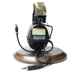 Тактическая гарнитура уха протекторы с функцией Звукоснимания Активное шумоподавление для охоты съемки CS 4 поколения чип от Поставщики наушники для apple