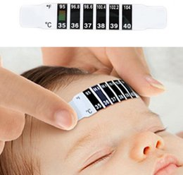 Wholesale Toddler Wholesale Price - 10pcs Baby Thermometer Reusable Flexible Toddler Forehead Care Health Monitors good quality low price wholesale best of best