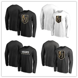 Wholesale News Free - 2017 News Men's Ice hockey T-shirt In the spring and autumn Vegas Golden Knights Offset printing free shipping