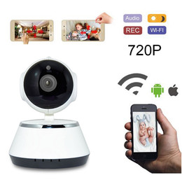 Wholesale Ip Zoom - IP Camera WiFi Hidden Cameras Video Surveillance 720P Night Vision Motion Detection P2P Camera Baby Monitor Zoom