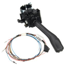 Wholesale Headlight Golf - DHL Free!Cruise Control System Indicator Stalk Switch & Harness Wiring Headlight Set For VW Golf Jetta Passat B5