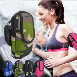 Wholesale Camping Cost - Hot Sale Fashion Hpopular low-cost running mobile arm wrist package bags outdoor sports fitness equipment sport bags