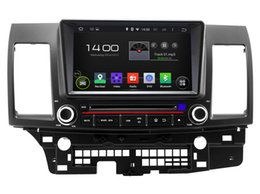 Wholesale Lancer Dash Gps - Android 5.1 In Dash 2Din Car DVD Player for Mitsubishi Lancer with GPS Navigation Radio Bluetooth SD USB AUX Audio Video Multimedia