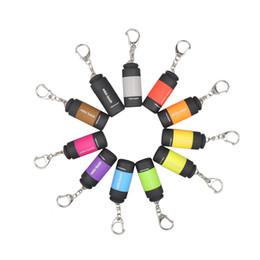 Wholesale Usb Mini Led Torch Keychain - USB Mini-torch Rechargeable LED Flashlight 0.3W 25LM Pocket USB Flashlight Waterproof Keychain Lamp Wholesale 2503021
