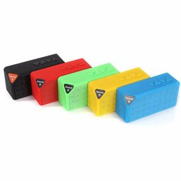 Wholesale Mobile Speaker Boombox - Mini X3 Portable Bluetooth Wireless Speaker Boombox Stereo Speakers Smart Phones Color Speaker for Tablet PC Audio Player