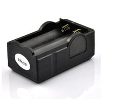 Wholesale Li Ion Battery For Flashlight - 18650 Battery Charger Two Line 18650 Li-ion Batteries Wireless with Anti-overcharge Smart Charger for e-cigarette led flashlight batteries