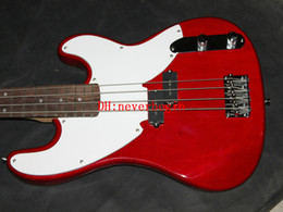Wholesale Cheap Electric Bass Strings - Best High Quality Newest Red 4 Strings Electric Bass Wholesale From China High Cheap A8999