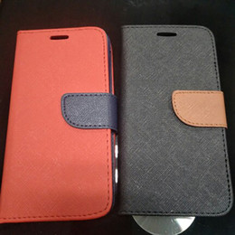 Wholesale Cases For Iphone Cross - cross pattern universal case for 3.5 to 5.5 inch pu leather case with cridet card slot stand case for iphone 6 7 8 plus iphone x samsung s8
