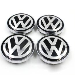 Wholesale Golf Rims - For VW WHEEL CENTER CAPS RIM HUB CAP 60mm 55 Volkswagen PASSAT Jetta GOLF Bettle