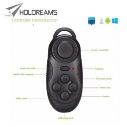 Wholesale Tvs Glasses Virtual - Multi-function Smart Bluetooth Gamepad Controller Shutter For TV Box VR 3D Glasses Virtual Reality Glasses Bluetooth Controller