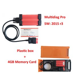 Wholesale Diag Scanner - Wholesale-2016 newly design V2016 R3 Multidiag Pro+ auto scanner multi-diag pro plus for Cars Trucks OBD2 with 4GB TF Card