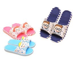Wholesale Girls Home Shoes - CX color 10-12 Summer Children Shoes Girls Boys Bathroom Slippers Cute Cartoon Fashion Kids Slippers Anti-Slip Home Slippers Beach Shoes