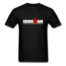 Wholesale Uomo Shirt Xl - Ironman Triathlon World Championship T Shirt Men Short Sleeve Casual Sporter T-Shirt Harajuku Shirt Uomo Camisetas Tee