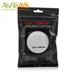 Wholesale Coil Master Organic Cotton for RBA Coil Organic from Japanese