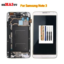 Wholesale Note3 Screen - Test Working Well LCD Display For Samsung Galaxy Note3 N9000q N9005 N900A N900T N900 N900V N900P LCD Display Replacement