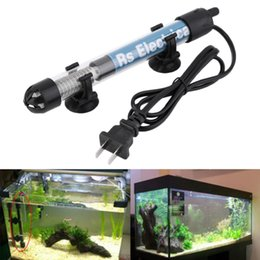 Wholesale Glasses For Fishing - 50w 100w 200w 300w US Plug Submersible Heater Heating Rod for Aquarium Glass Fish Tank Temperature Adjustment