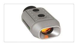 Wholesale Mini Golf - US Portable Mini Digital 7X Golf Scope Range Finder Distance 1000m With Padded Case Newest
