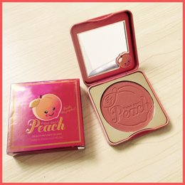 Wholesale One Blush - Free Shipping by ePacket In Stock! New Sweet peach PAPA Don't PEACH Makeup Face Peach infused blush one color blush + Gifts