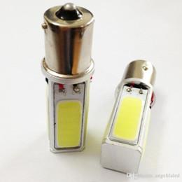 Wholesale Pure White 1156 - High Power COB Car Brake Light 1156 Tail Bulb 20W LED BA15S S25 P21W Lamp Pure White DC12V