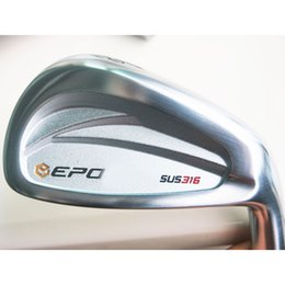Wholesale Forge Free - Wholesale New Golf head SUS316 Forged Golf Irons head set 4-9P Golf Clubs head no irons Clubs shaft Free shipping