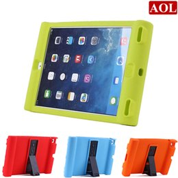 Wholesale Mini Ipad Case For Kids - For apple iPad air 2 3 4 iPad mini Soft Silicone Case Protective Shockproof Cover 9.7 inch Home Children School Kids Gamer