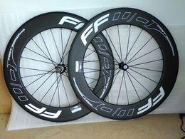 ruedas de carretera de carbono 88 mm de ancho de rueda 23 mm de clincher de carbono 700C ruedas de bicicleta de carretera Ruedas de carbono de rueda de bicicleta desde fabricantes