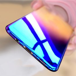 Wholesale Protective Edging - Cool Blue Ray Plastic Case For Samsung Galaxy S8 S8 Plus S7 Edge S7 Case For Samsung Galaxy S7 S7edge S8 Protective Capa