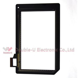 Wholesale Acer Iconia B1 A71 - 5pcs lot Black for Acer Iconia B1-A71 Tab touch screen glass digitizer panel replacement in high quality with free shipping
